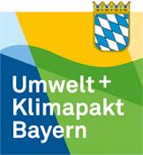 Logo Umwelt und Klimapakt Bayern